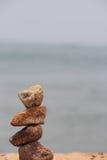 Sten på en strand Arkivfoto