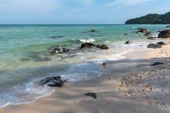 Sten på stranden Royaltyfria Bilder