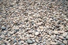 Sten på stranden av aphroditen cyprus Royaltyfri Foto