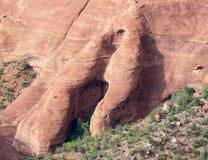 Sten Shape i kanjon Royaltyfria Foton