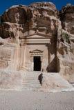 Sten sniden gravvalv Arkivbild