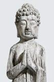 Sten som bildar Buddha Arkivbild