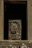 Sten som snider framsidan Royaltyfria Foton