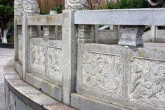 Sten som snider modell-Qingyunspektret Royaltyfria Bilder