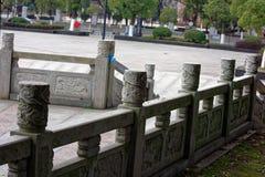 Sten som snider modell-Qingyunspektret Royaltyfria Foton