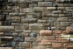 sten texturerad stads- vägg Fotografering för Bildbyråer