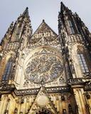 Sten Vitus Cathedral Fotografering för Bildbyråer