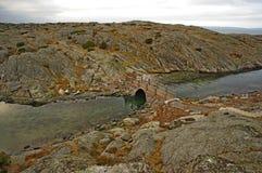 Stena bron Royaltyfri Bild