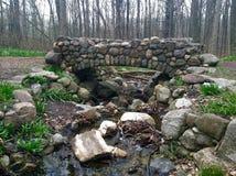 Stena bron Arkivfoto