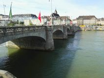Stena bron Arkivbild