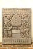Stencarvings Royaltyfri Fotografi