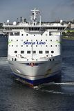 Stena Line Ferry at the Harbor of Kiel, Germany. Stock Photo