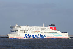 Stena Line ferry ship Stock Photography