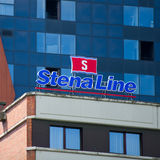 Stena Line Sign Stock Photography