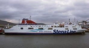 Stena Mersey Royaltyfri Fotografi