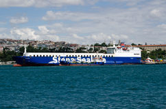 Stena Sealine Ferry, Istanbul Stock Photo