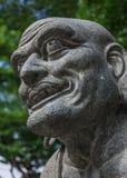 Stena skulptur, ståenden som är bildhuggar-, staty royaltyfri fotografi
