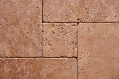 stena väggen av hållbara tegelplattor royaltyfri bild