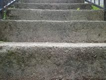 stenad trappa Arkivbild