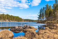 Stenar av Finland arkivfoton