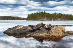 Stenar av Finland Royaltyfri Fotografi