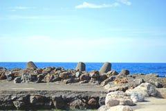 Stenar av havet arkivbilder