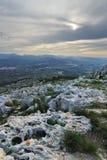 Stenar av Montgo Arkivbild