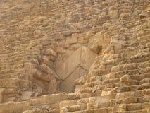 Stenar av pyramiden royaltyfria foton