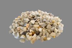 Stenar från havet Arkivfoto