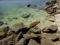 Stenar havet Krim Royaltyfri Bild