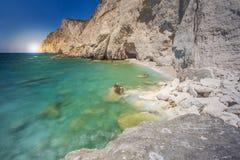Stenar i hav bevattnar fotografering för bildbyråer