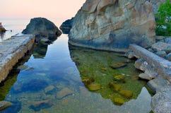 Stenar i havet Royaltyfri Foto