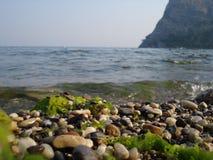 Stenar i havet Fotografering för Bildbyråer