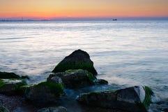 Stenar i havet Royaltyfri Fotografi