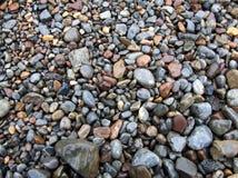 Stenar i regnet Fotografering för Bildbyråer