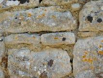 Stenar och vaggar utomhus Arkivbild