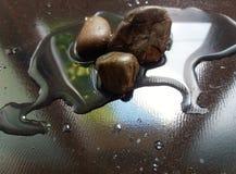 Stenar och vatten 2 Fotografering för Bildbyråer