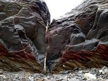 Stenar på hav-kust Arkivbilder