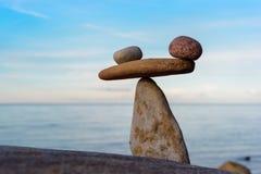 Stenar på kusten Royaltyfria Foton