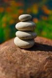 Stenar som vertikalt läggas Fotografering för Bildbyråer