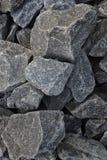 Stenar stänger sig upp Arkivbild