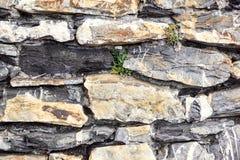 Stenar texturerar och bakgrund tät rocktextur upp Royaltyfri Bild