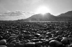 stenar värme Arkivbild
