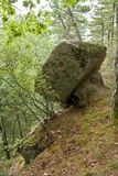 Stenar vaggar Arkivfoto
