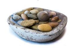 Stenar vaggar sund livsstillugn royaltyfri foto