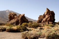 stenar vulkaniska tenerife Royaltyfri Fotografi