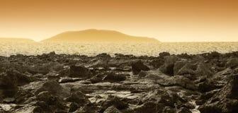 stenar vulkaniskt Arkivbild