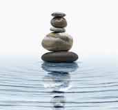 stenar zen fotografering för bildbyråer
