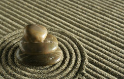 stenar zen Royaltyfri Fotografi