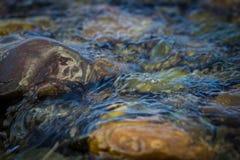 Stenarna i floden Royaltyfri Foto